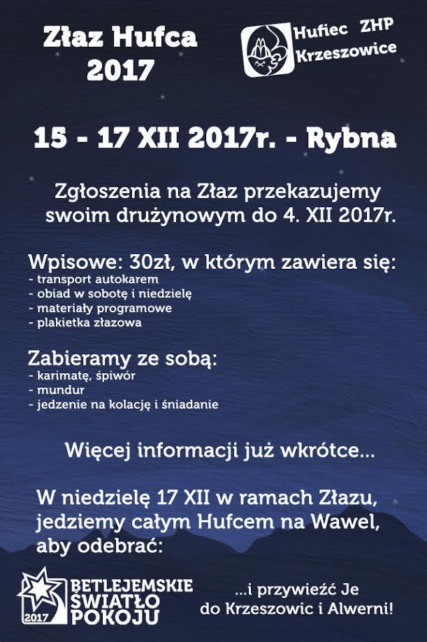 Złaz Hufca 2017